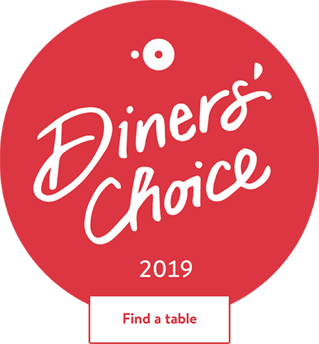 Open Table 2019 Diners Choice Badge